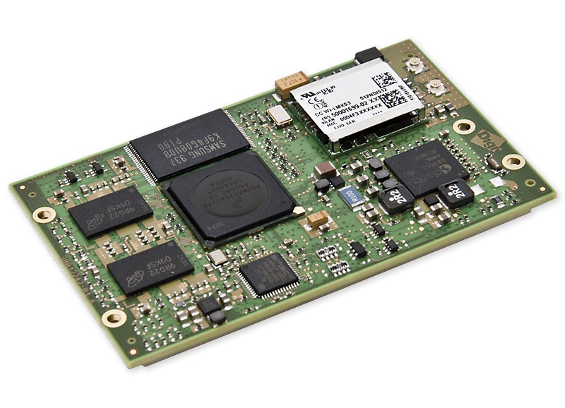 The smallest Free scale System-on-Module MX6 Quad Cortex-A9