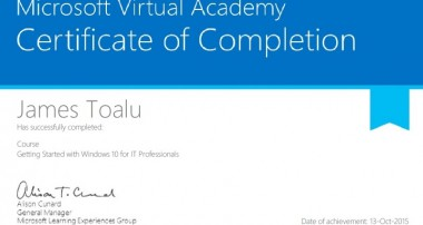 How to Earn Microsoft Windows 10 Certification