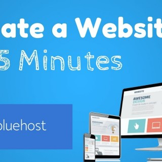 Create a Website with BlueHost Hosting in 5 Minute