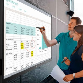 70-INCH DELL TOUCHSCREEN IS AT HOME IN CONFERENCE ROOMS, CLASSROOMS