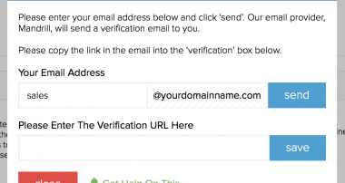 Finding a Suitable Email Verification System