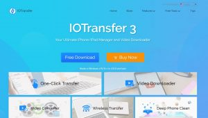 Review of IOTransfer3- The Ultimate iPhone/iPad Managing Software