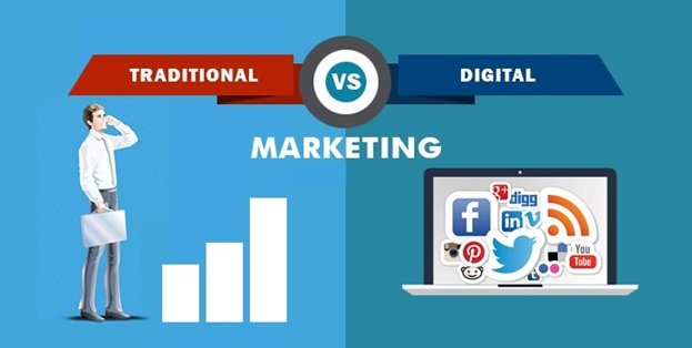 How Digital Marketing Differs From Traditional Marketing?
